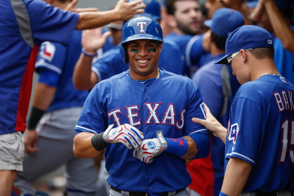 Leonys Martin owners haven't had a lot to smile about so far.