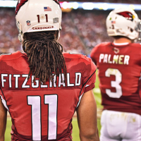 Carson Palmer and Larry Fitzgerald