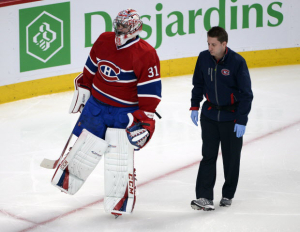 Carey Price injury replacement for Fantasy Hockey